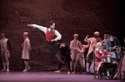 Jeffrey Cirio in English National Ballet's Manon, photo by Laurent Liotardo