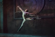 Matthew Bourne's SWAN LAKE. Liam Mower 'The Prince'. Photo by Johan Persson (1)