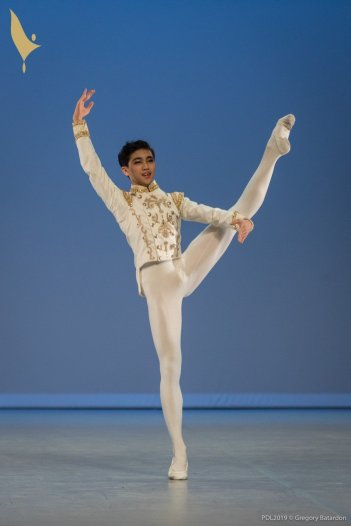 412 WU Shuailun, Prix de Lausanne 2019, photo by Gregory Batardon 0100