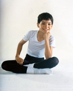 Isaac Hernández the young dancer