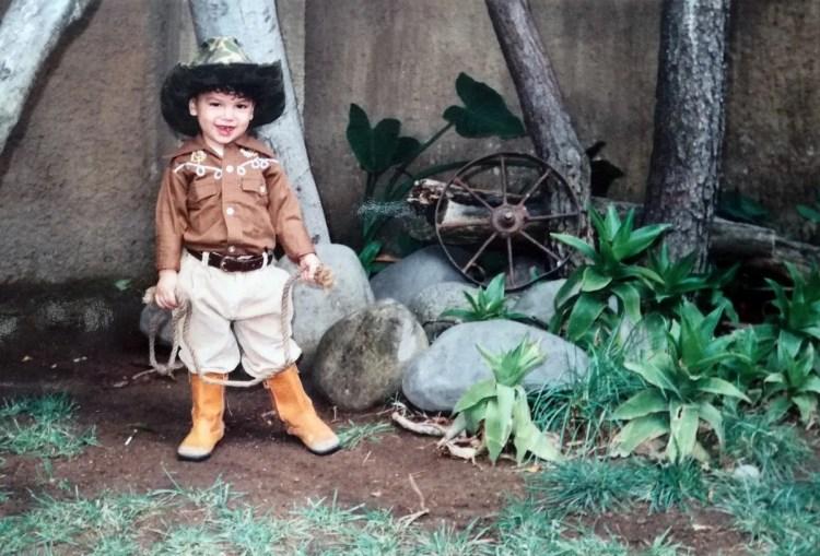 Isaac the cowboy