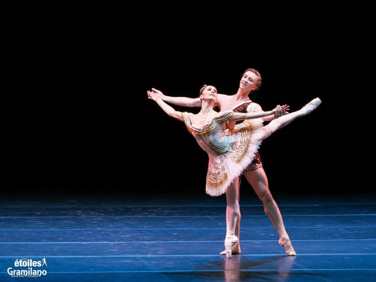Marianela Nuñez and Vadim Muntagirov, Sylvia, photo by Graham Spicer