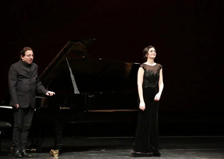 Marianne Crebassa and Fazil Say at La Scala, photo by Brescia e Amisano, Teatro alla Scala 2019 3