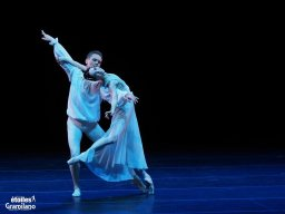 Olesya Novikova and Leonid Sarafanov, Romeo and Juliet, photo by Graham Spicer