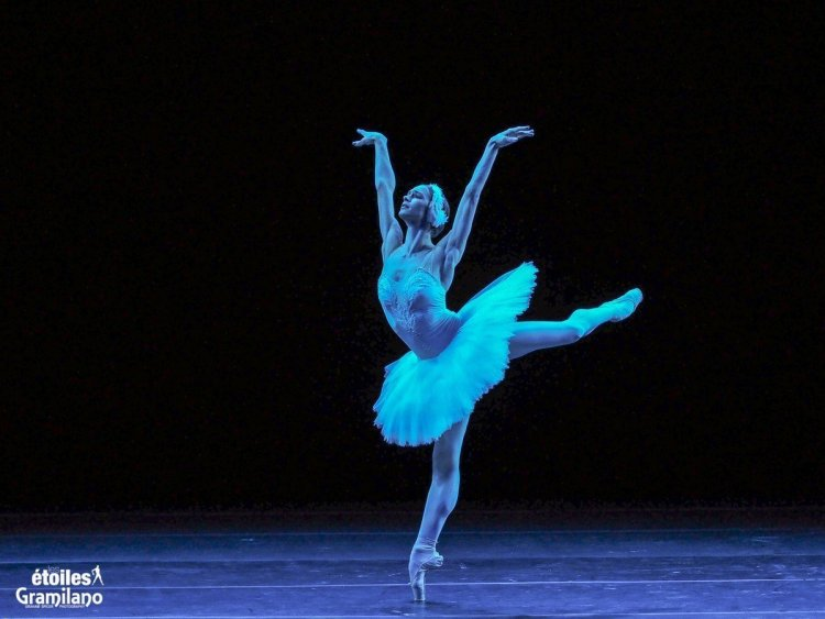 Polina Semionova, The Dying Swan, photo by Graham Spicer