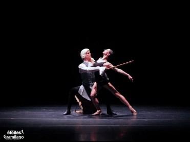 Polina Semionova andDmitry Semionov, Cello, photo by Graham Spicer