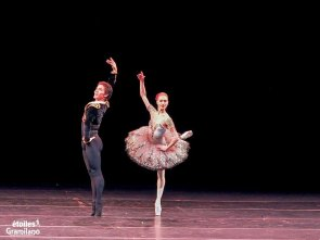 Tatiana Melnik and Bakhtiyar Adamzhan, Don Quixote, photo by Graham Spicer