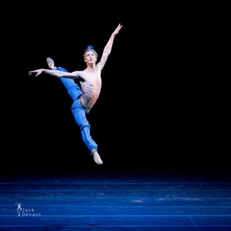 Vadim Muntagirov, Le Corsaire, photo by Jack Devant