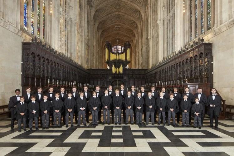 Choir of King's College, Cambridge 01