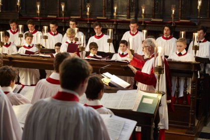 Choir of King's College, Cambridge 04