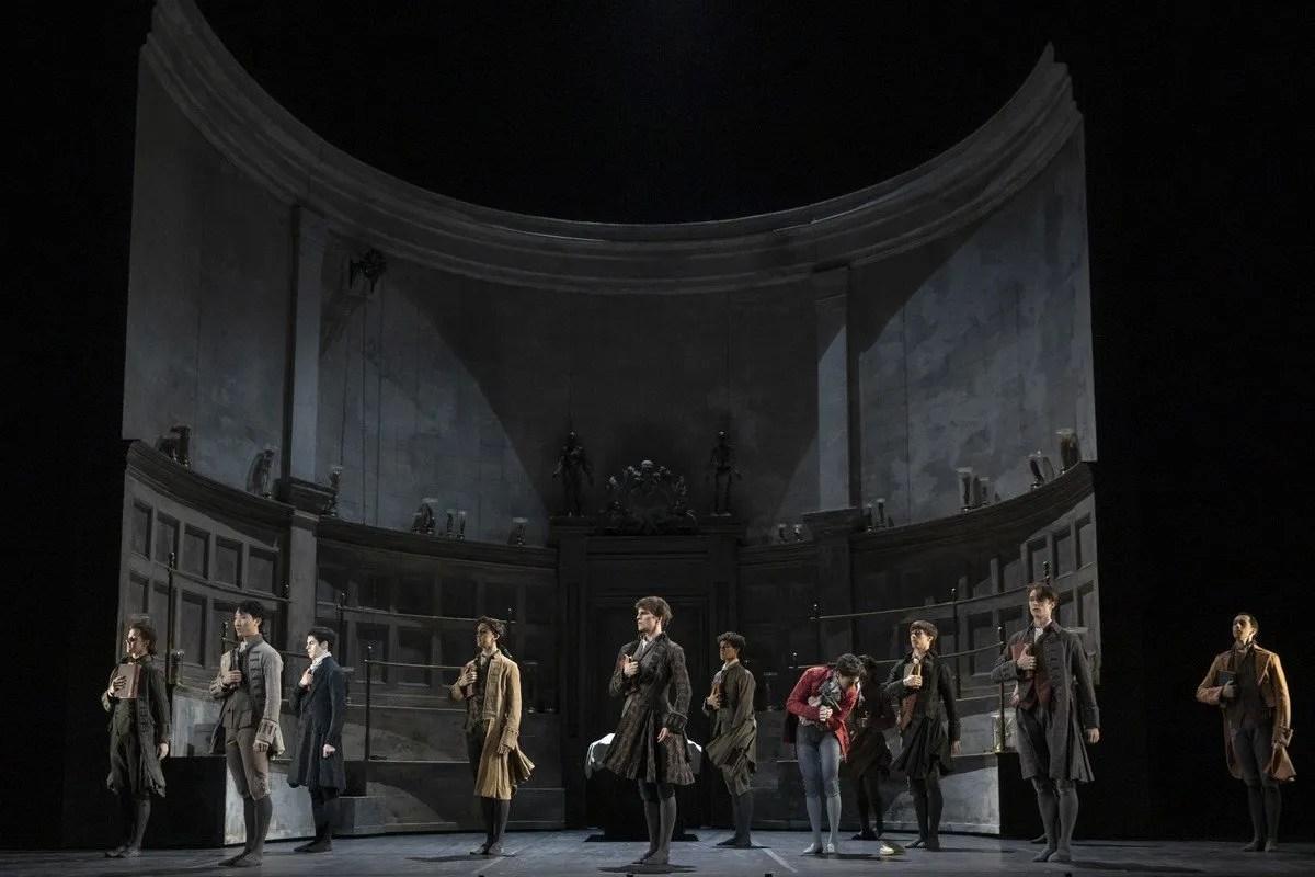 Frankenstein. Artists of The Royal Ballet. ©ROH 2019. Photographed by Andrej Uspenski 01