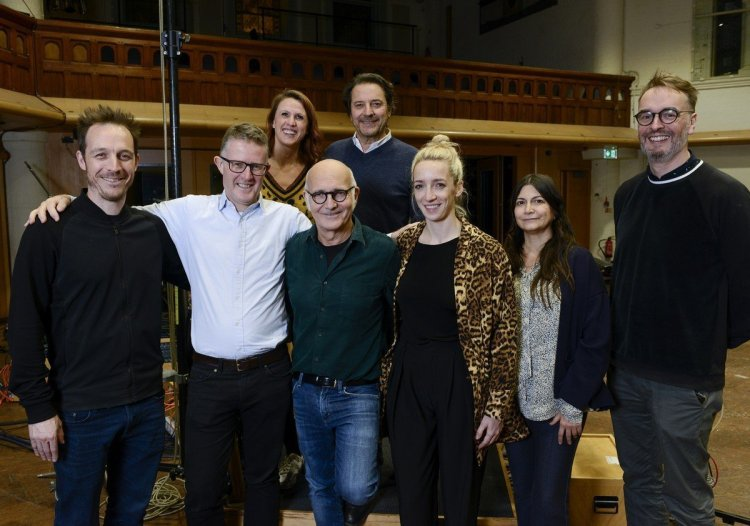Ludovico Einaudi signing with DECCA 2019, photo by Dominic Nicholls