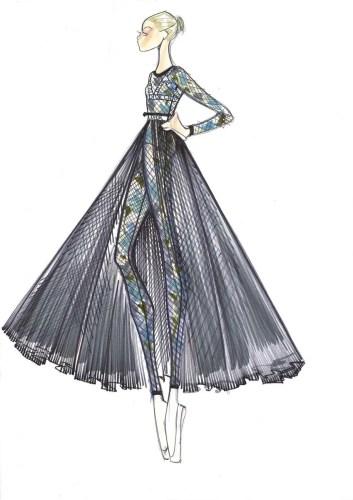 Nuit Blanche, designs by Maria Grazia Chiuri, Dior, for Rome Opera Ballet 2019 3