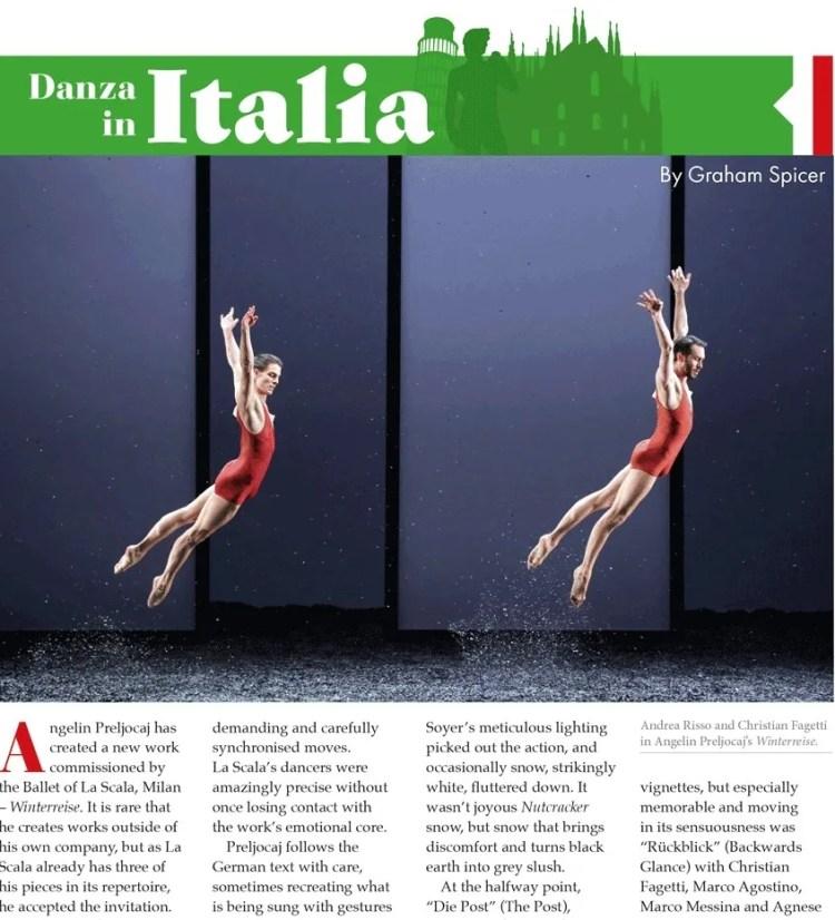 Dancing Times May 2019 Danza in Italia 2