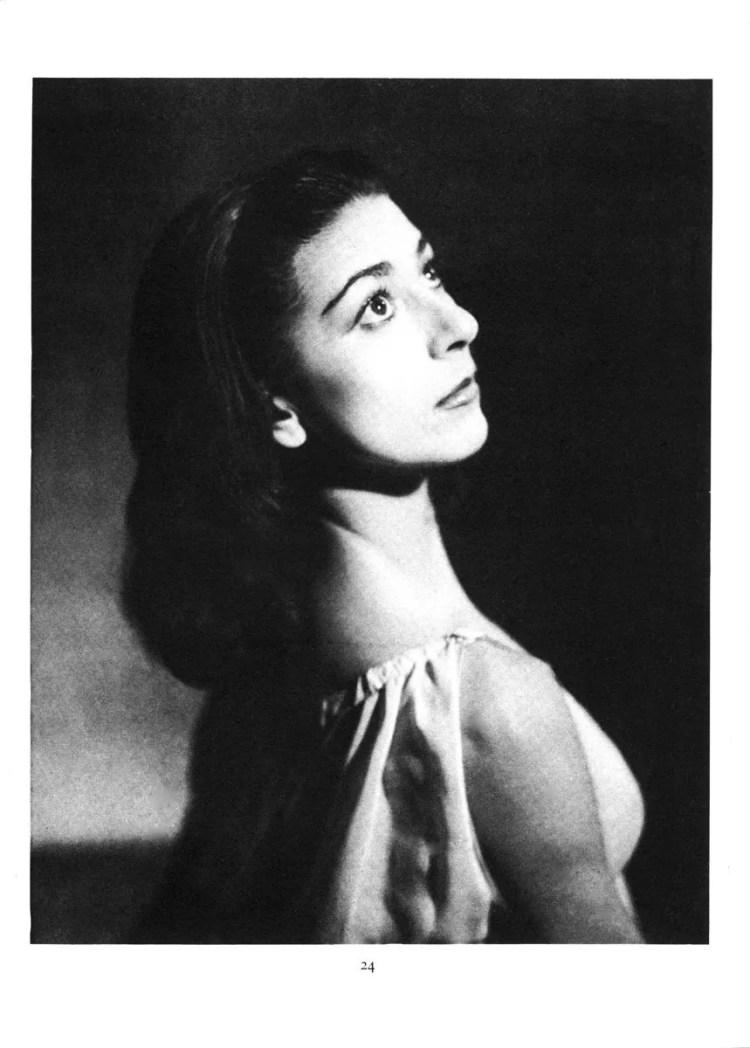 Margot Fonteyn by Baron for the 1946 47 Royal Ballet Season Brochure
