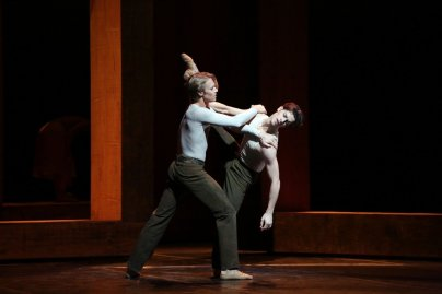Woolf Works, I now I then, with Timofej Andrijashenko and Claudio Coviello, photo by Brescia e Amisano, Teatro alla Scala 2019