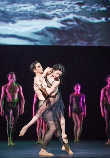 Woolf Works with The Royal Ballet, Alessandra Ferri and Federico Bonelli © ROH, 2015 Tristram Kenton