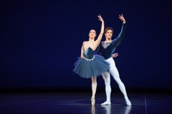 Alice Bellini and Shale Wagman performing Grand Pas Classique © Laurent Liotardo