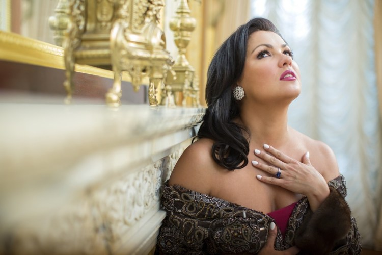 Anna Netrebko, photo Dario Acosta