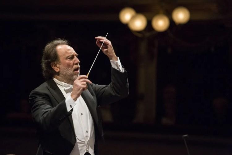 Riccardo Chailly, photo Brescia e Amisano