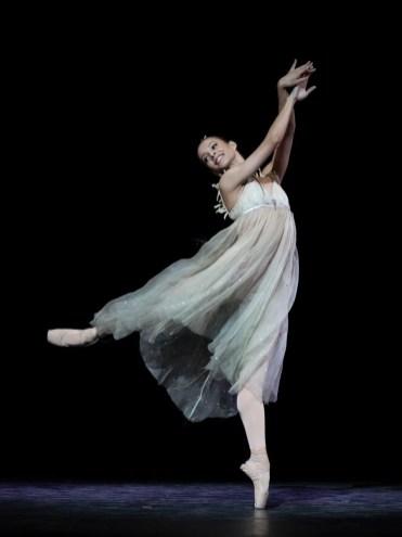 Francesca Hayward in Ondine, photo Andrej Uspenski