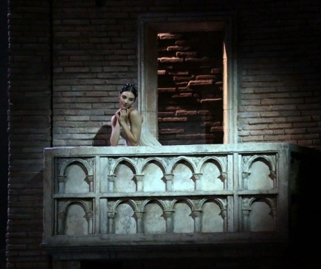 Romeo and Juliet balcony scene with Martina Arduino, with Martina Arduino