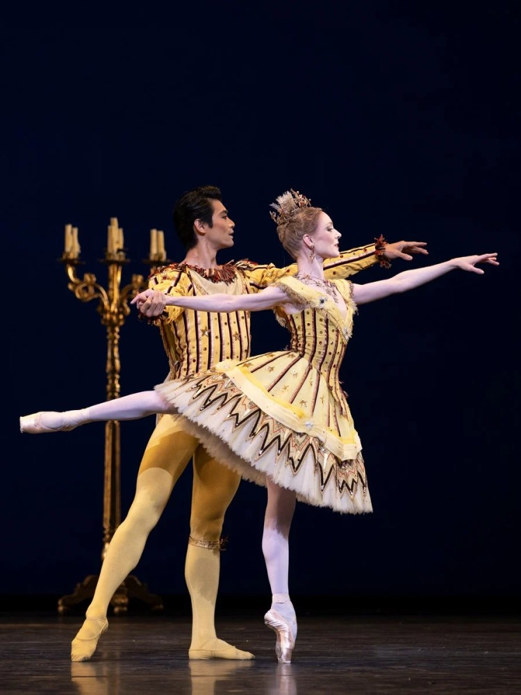 Sarah Lamb and Ryoichi Hirano in Birthday Offering, photo by Andrej Uspenski ROH