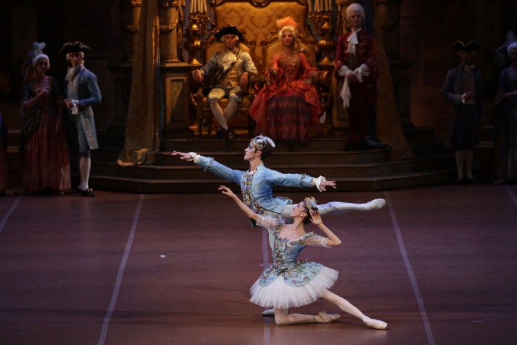 39 The Sleeping Beauty, with Vittoria Valerio and Claudio Coviello