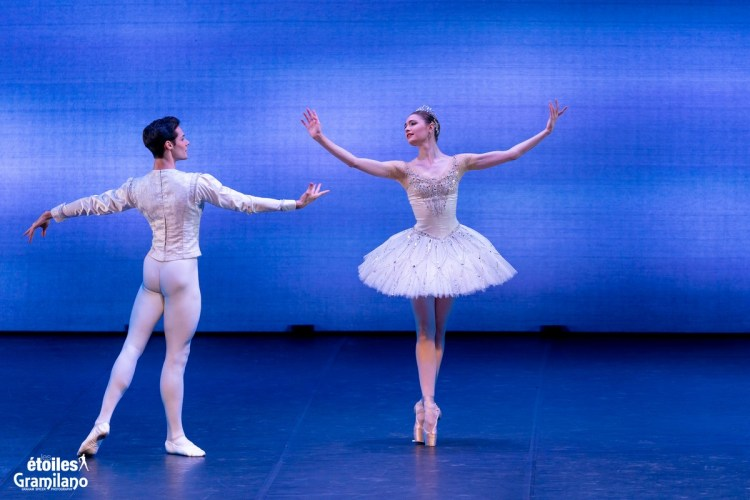 Diamonds (from Balanchine's Jewels) with Alena Kovaleva and Jacopo Tissi © Graham Spicer, Daniele Cipriani Entertainment 5