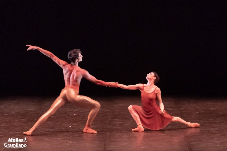 Duet with with Anna Tsygankova and Constantine Allen © Graham Spicer, Daniele Cipriani Entertainment 2