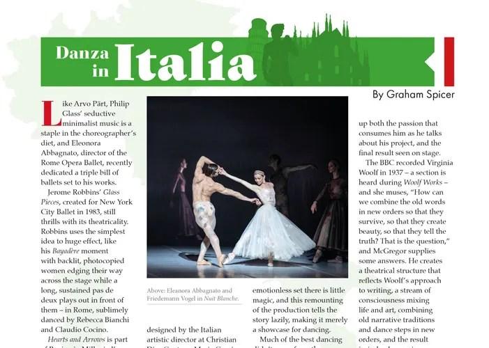 Dancing Times 2019 09 Danza in Italia