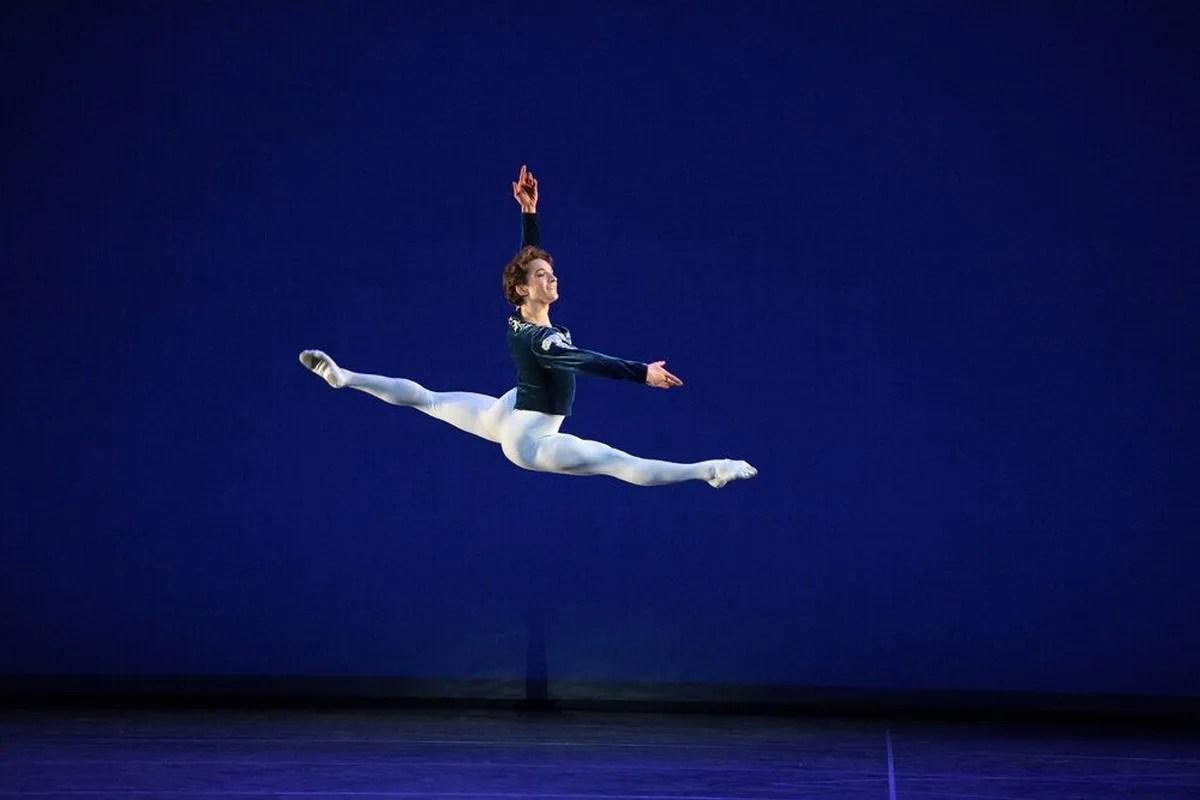 Grand Pas Classique at English National Ballet, photo by Laurent Liotardo