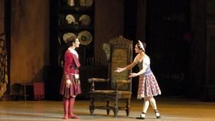 Shale Wagman with Tatyana Tchenko as Effie, photo by Eli Cattiva