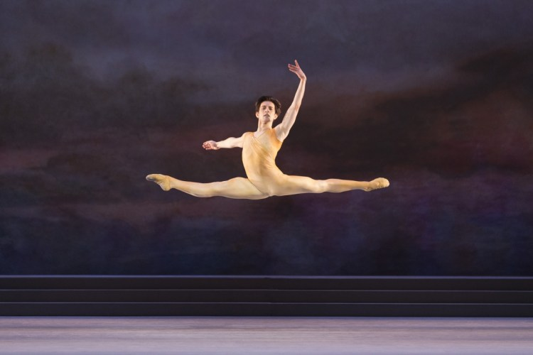 Valentino Zucchetti in Rhapsody, The Royal Ballet © ROH, Johan Persson 2014