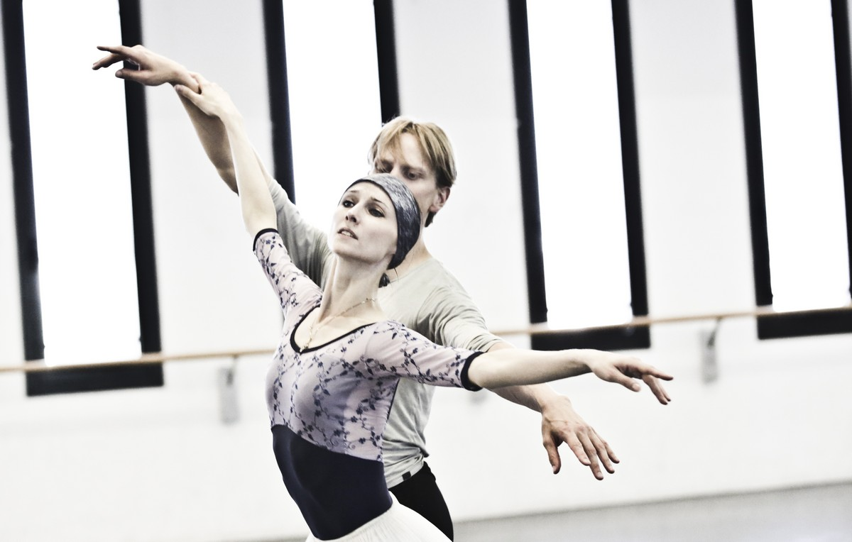 07 Giselle in rehearsal with Svetlana Zakharova and David Hallberg © Brescia e Amisano Teatro alla Scala
