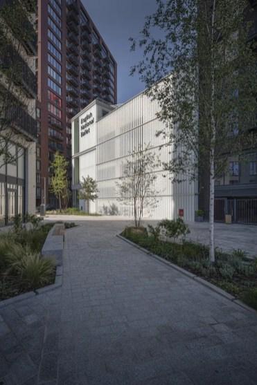 English National Ballet's new home on London City Island © Michael Molloy 01