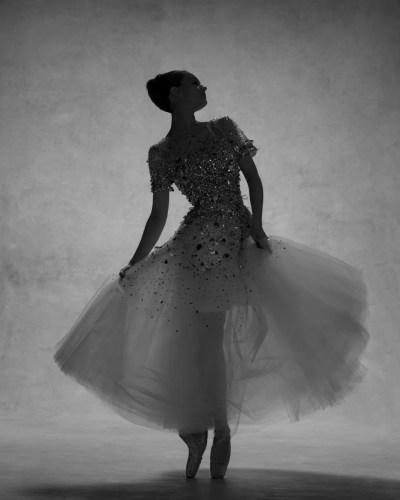 Lauren Lovette, Principal, New York City Ballet, Dress by Oscar de la Renta © Ken Browar and Deborah Ory