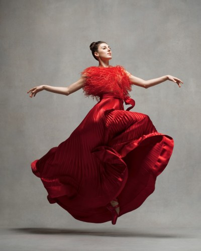 Tiler Peck, Principal, New York City Ballet, Dress by Valentino, 2003 © Ken Browar and Deborah Ory
