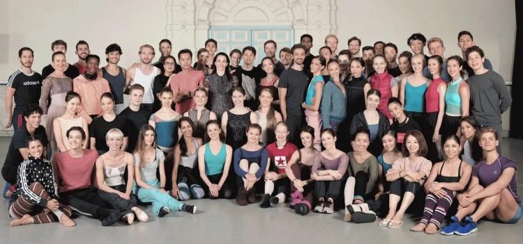 English National Ballet company