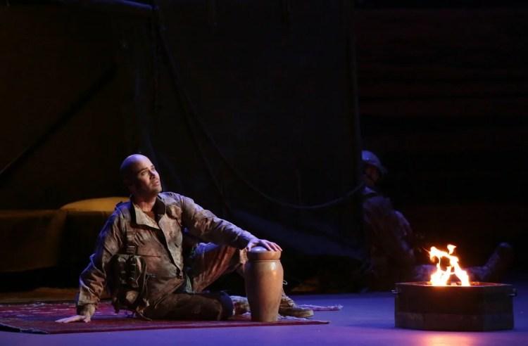 Giulio Cesare with Bejun Mehta © Brescia e Amisano, Teatro alla Scala 2019