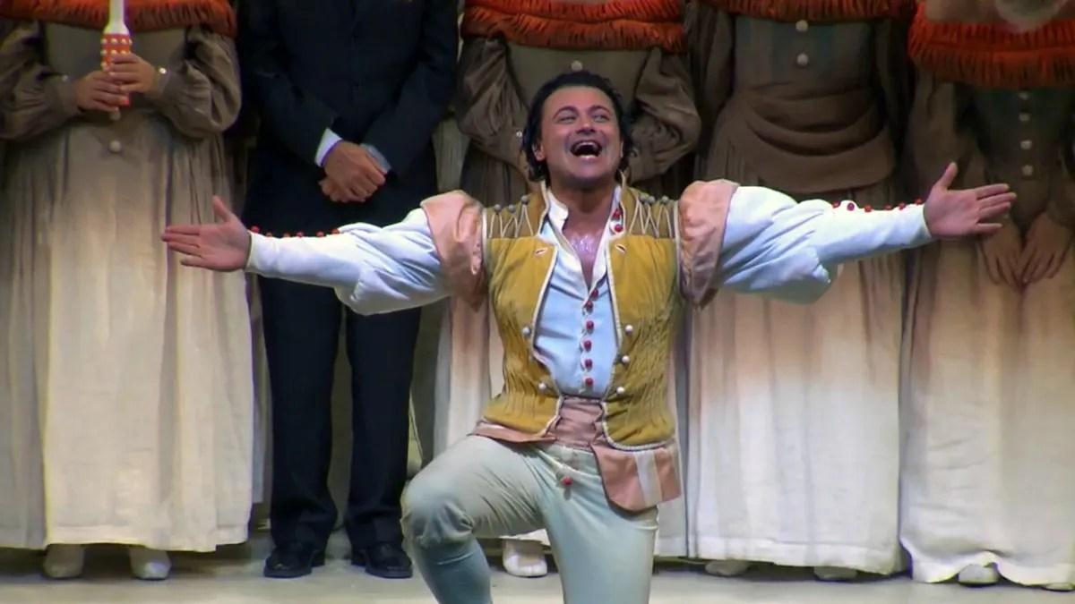 Vittorio Grigolo at La Scala as Nemorino, 1 October 2019