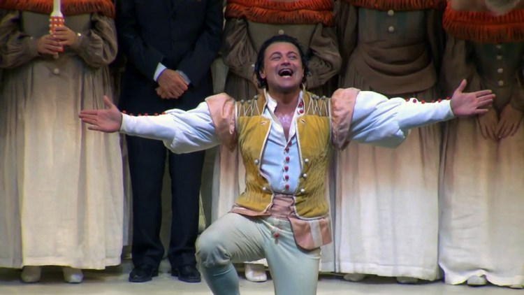 Vittorio Grigolo at La Scala as Nemorino, 1 October 2019