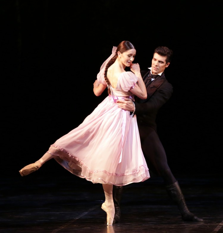 08 Onegin with Roberto Bolle and Marianela Nuñez photo by Brescia and Amisano, Teatro alla Scala 2019