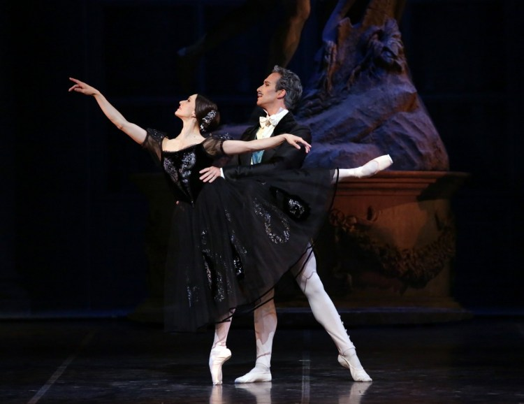 14 Onegin with Marianela Nuñez and Gabriele Corrado photo by Brescia and Amisano, Teatro alla Scala 2019