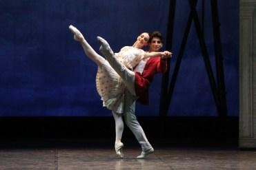 Alessandro Macario in Coppélia by Amedeo Amodio with Anbeta Toromani, Teatro Massimo, Palermo
