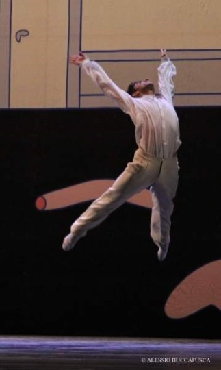 Alessandro Macario in Giselle by Mats Ek, Teatro San Carlo