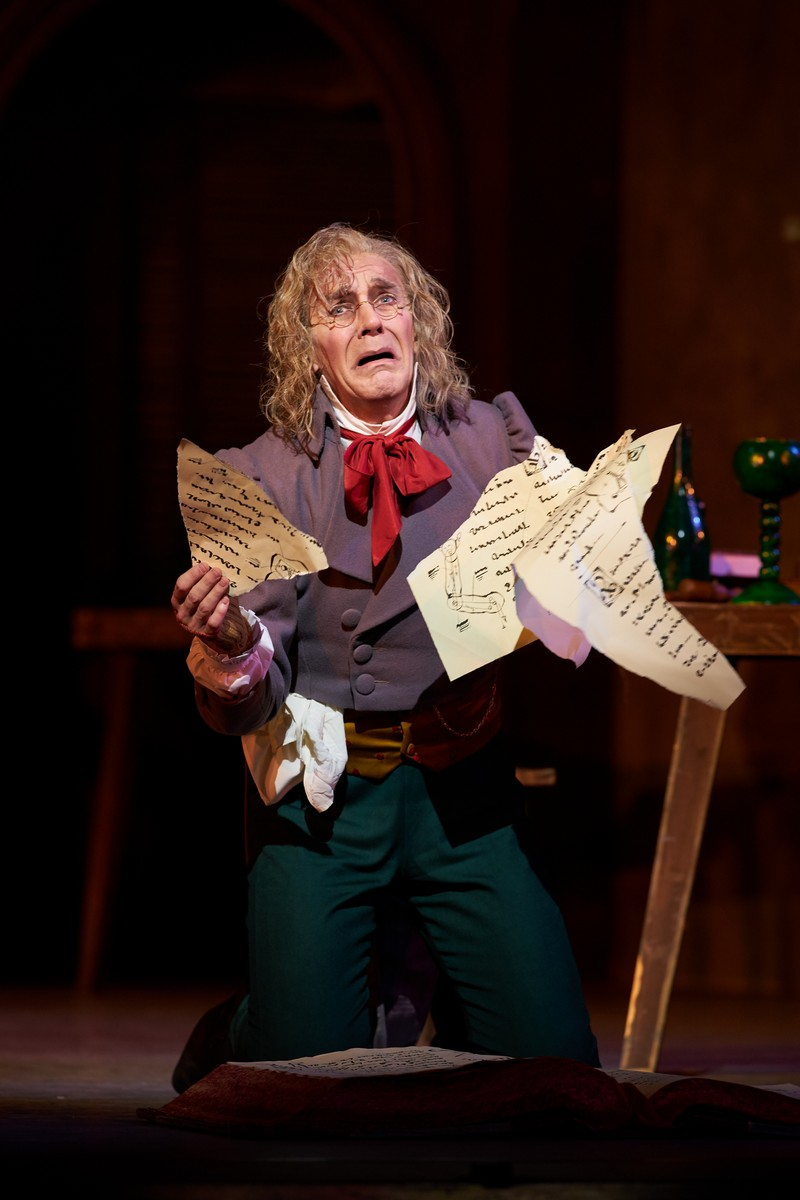 Coppelia. Gary Avis as Dr Coppelius. (c) ROH, 2019. Photographed by Bill Cooper. (1)