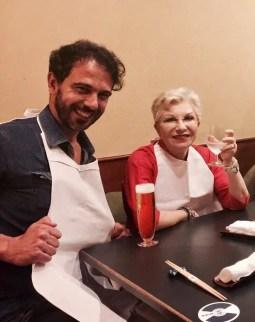 Francesco Lanzillotta with Mariella Devia in Tokyo