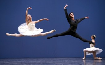 George Balanchine's Symphony in C with Alessandra Vassallo and Claudio Coviello © School of American Ballet 2019 11