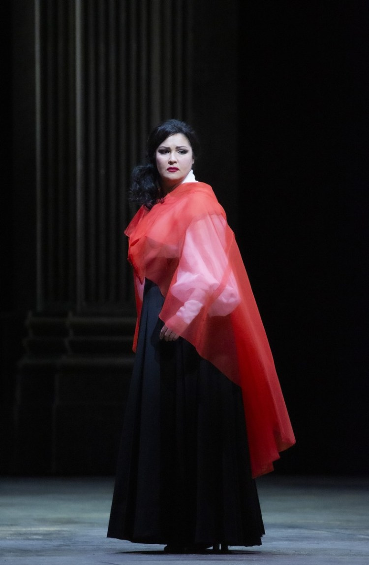 08 Tosca with Netrebko, photo by Brescia e Amisano, Teatro alla Scala 2019
